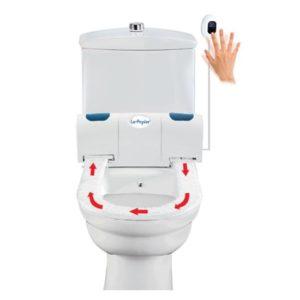 Colac wc cu senzor le papier