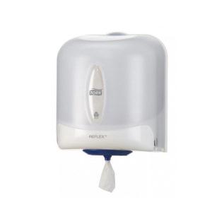 Dispenser tork reflex pentru prosop cu derulare centrala